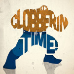 """Clobberin Time"" (c)Peter Ware."