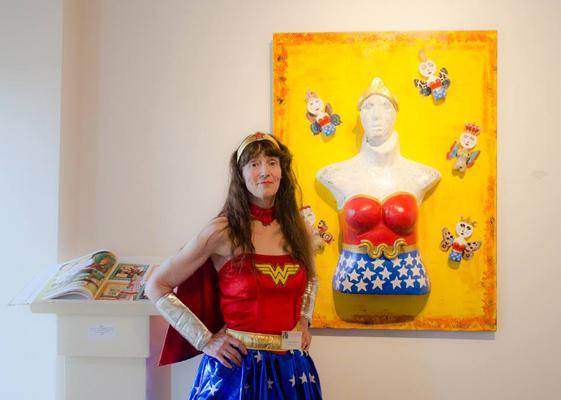 """""""Reimagined!  An International Show of Comic and Cartoon Art"""""""
