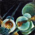 """""""Illumination"""", oil on canvas. (c)Morris Bennett."""
