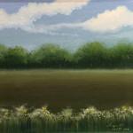 """The Painterly Way"", oil on canvas. (c)Angela Brett."