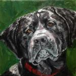 """Dakota"", oil on canvas. (c)Stephanie Cohen."