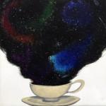"""Awaken the Soul"", acrylic on canvas. (c)Tia Marie Damman."