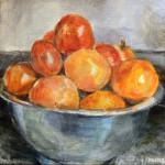 """Summer Harvest"", acrylic on canvas. (c)Jackie Kearns."