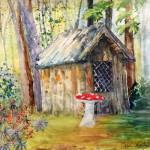 """""""Enchanted"""", watercolor. (c)Carol Kelly."""