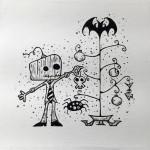 """Halloween Eve"", archival ink on canvas. (c)Greg Matusic."