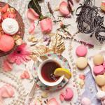 """""""Tea with Marie Antoinette"""", photograph. (c)Michelle McGrady."""