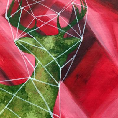 Untitled, acrylic on paper. (c)Sierra Stemp.
