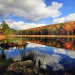 """Fountain Pond, Great Barrington, MA"", photograph. (c)Debbie Storie."