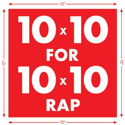10x10 RAP Logo