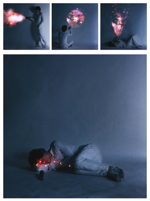 2013_Untitled (set of 4), photographs, large image 42x42, smaller images 12x12 each. (c)Stephanie Owyang.