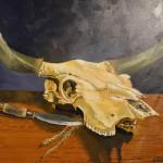"2014_""Prime Rib 1"", acrylic on canvas, 24""x30"". (c)Janet Richardson."