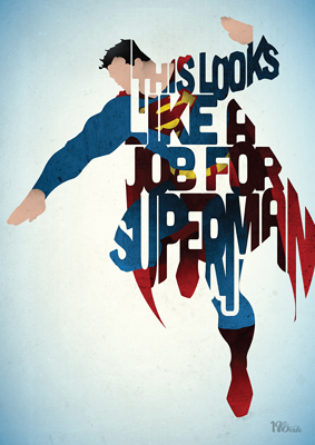 """Job for Superman"" (c)Peter Ware."