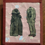 """The Couple"", artist proof print on wallpaper. (c)Lisa Griffith."